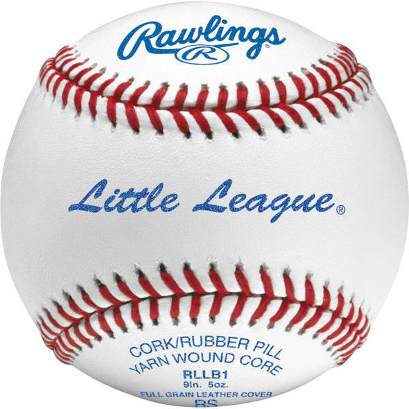 Little League Official Baseballs - Tournament Grade (1 Dozen)