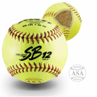 SBC ASA Leather Softball