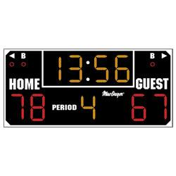 "BSN SPORTS 6'6"" x 3' Ultimate Scoreboard - Black"