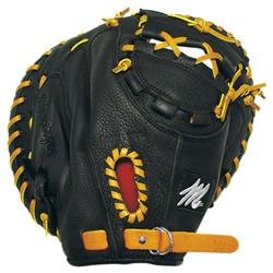 MAC Prep Series Catchers Mitt Black RHT