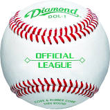 Diamond Official League Baseballs (1 Dozen)