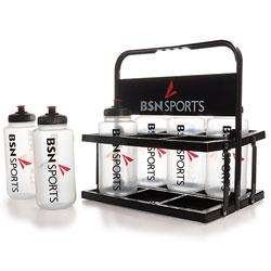 BSN SPORTS Foldable 6-Bottle (6 Qt.) Carrier