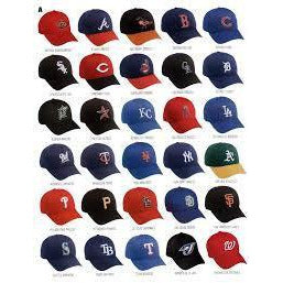 MLB Replica Caps - Youth & Adult
