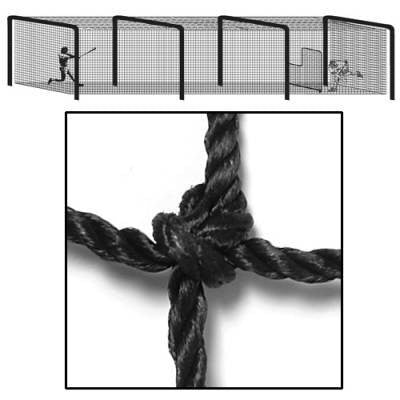 All-Star Nylon Twisted/Knotted Batting Tunnel Nets