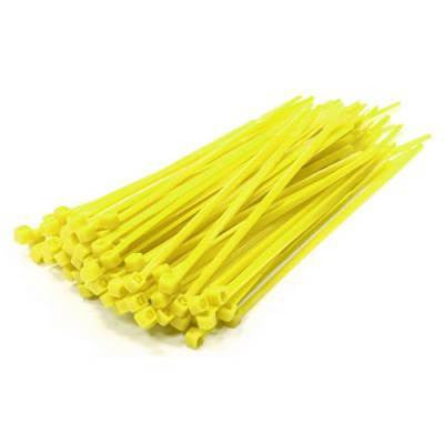 Poly-Cap Fence Guard Yellow 18' Zip Ties