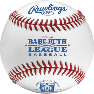 Babe Ruth Official Baseballs - Tournament Grade (1 Dozen)