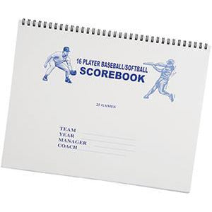 Martin Sports Baseball/Softball Scorebooks