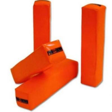 Pro Down Weighted Football Pylons (4-Pack)