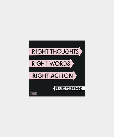 Right Thoughts, Right Words, Right Action - CD