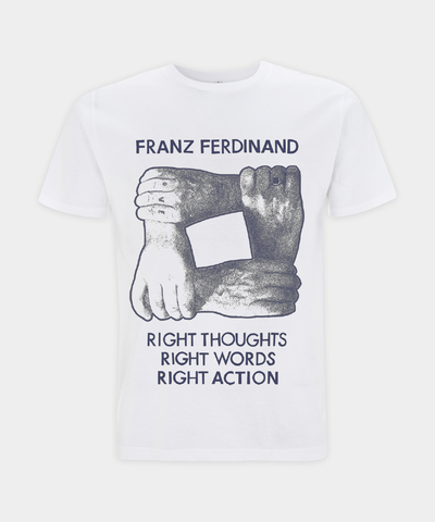 Hands Text T-Shirt