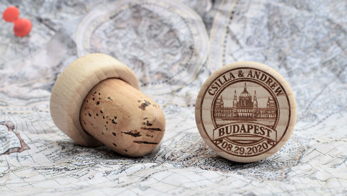 Personalized Wine Stoppers - Photos