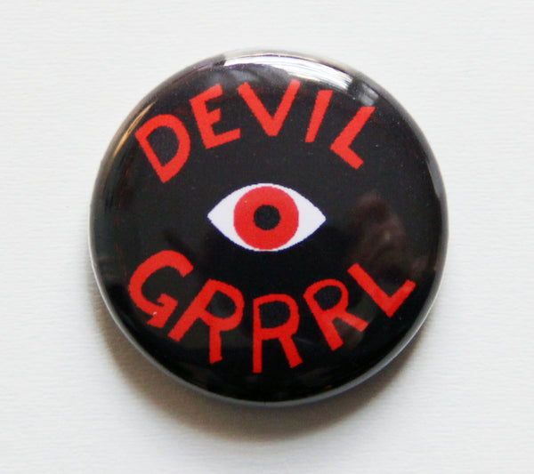 Devil Grrrl One Inch Button