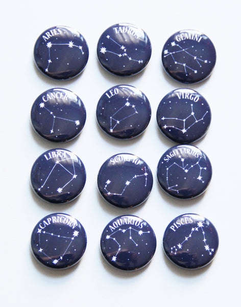 Zodiac Buttons / Pick Your Sign