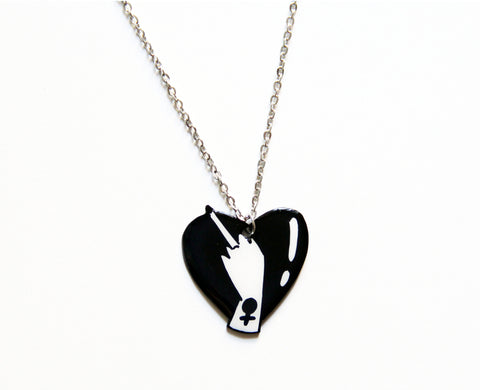 Lovely Middle Finger Necklace