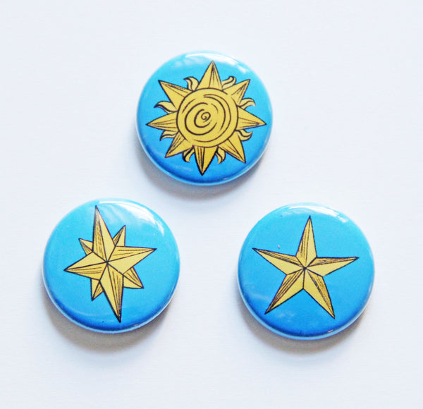 Celestial Button Set in Day