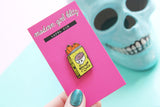 Secret Diary Enamel Pin