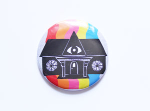 House Magnet / Rainbow