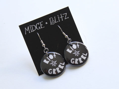 Riot Grrrl Earrings