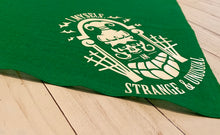 """I Myself Am Strange & Unusual"" Beetlejuice bandana (more colors available)"