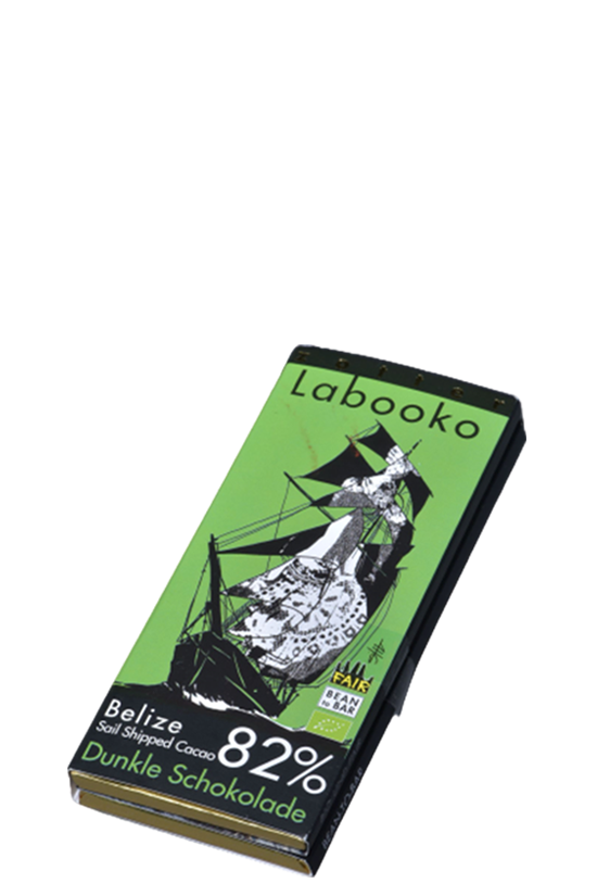 Zotter Labooko chocolate 82%