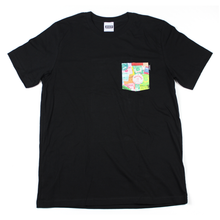 Tournament Badges Pocket Tee - Black
