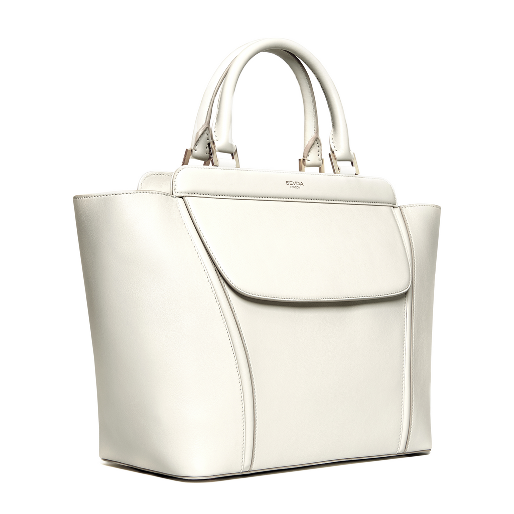 AUDREY TOTE OFF WHITE