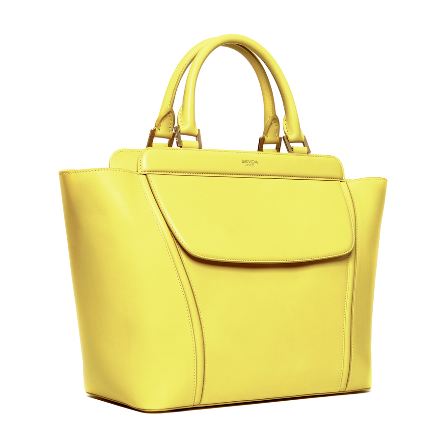 AUDREY TOTE YELLOW