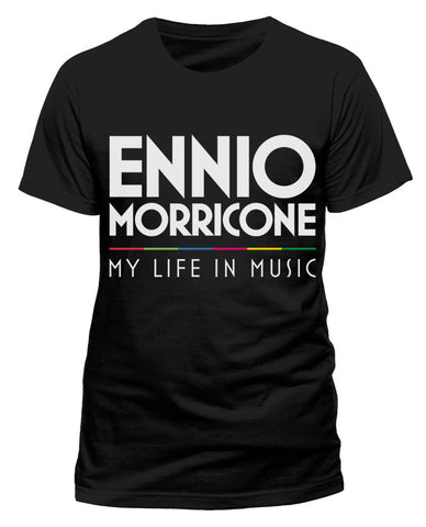 Ennio Morricone - My Life In Music T-Shirt