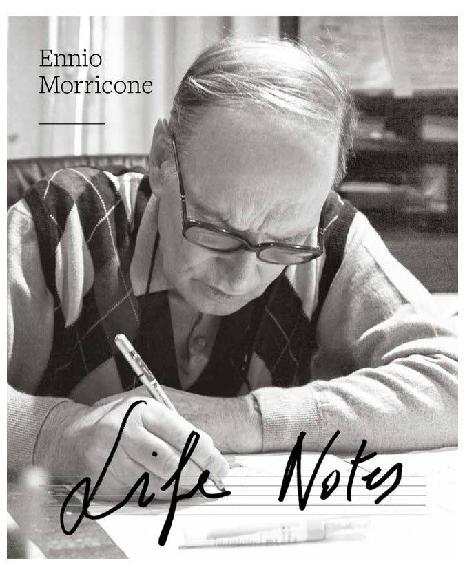 Ennio Morricone - Life Notes Signed Book