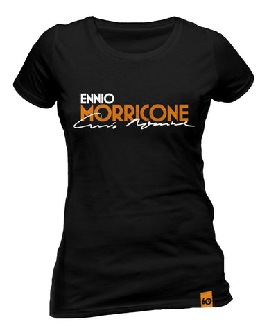 Ennio Morricone - Logo Signature Ladies T-Shirt