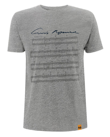 Ennio Morricone - Sheet Music Signature Mens T-Shirt
