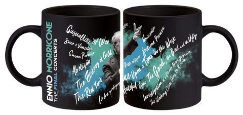 Ennio Morricone ‎– The Final Concerts Mug (Black)