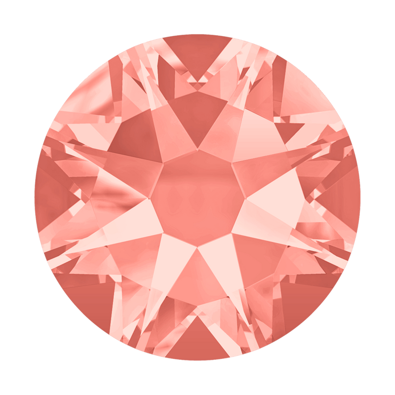 2058 & 2088 Swarovski Flatback No Hotfix, Rose Peach (262)
