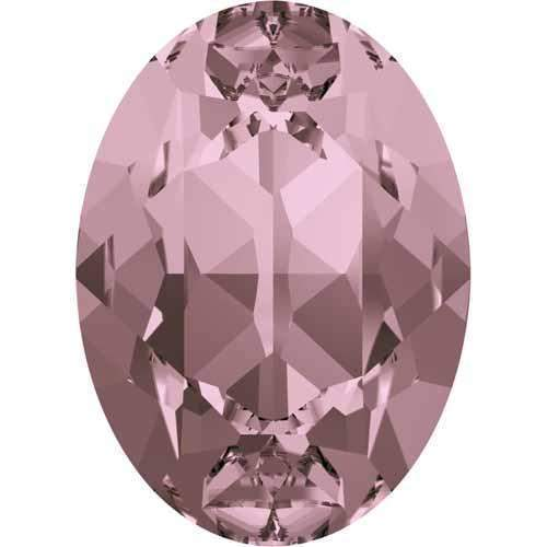 4120 Swarovski Oval Fancy Stones, Crystal Antique Pink (001 ANTP)
