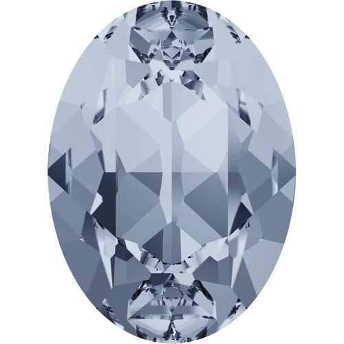 4120 Swarovski Oval Fancy Stones, Crystal Blue Shade (001 BLSH)