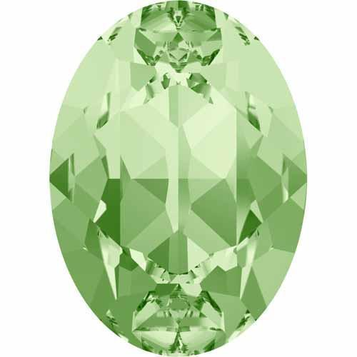 4120 Swarovski Oval Fancy Stones, Chrysolite (238)
