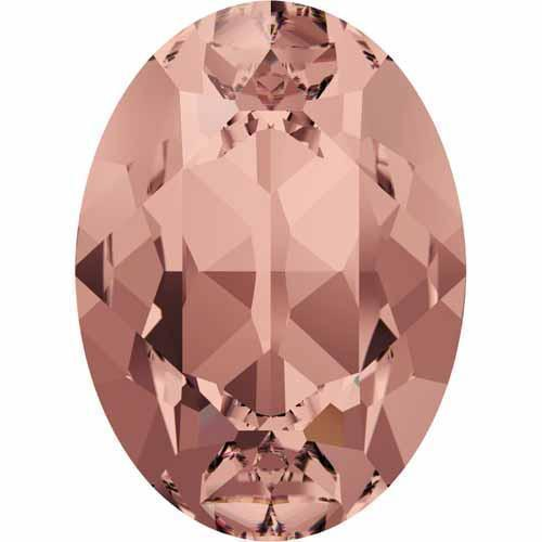 4120 Swarovski Oval Fancy Stones, Blush Rose (257)