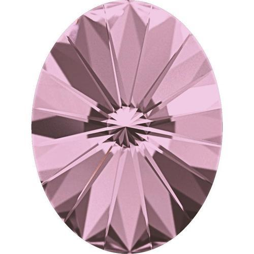 4122 Swarovski Rivoli Oval Fancy Stones, Crystal Antique Pink (001 ANTP)