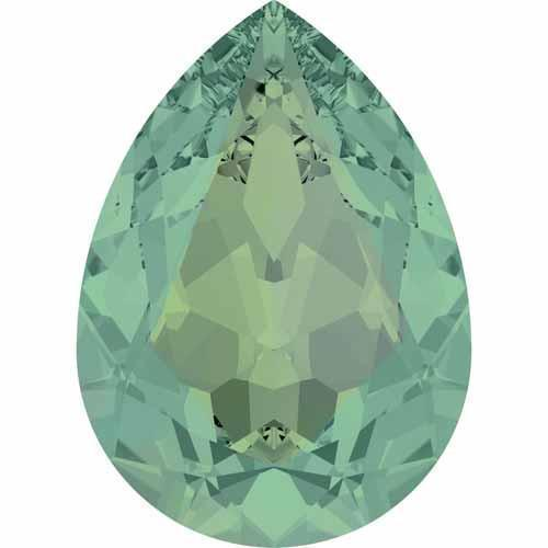 4320 Swarovski Pear Fancy Stones, Pacific Opal (390)