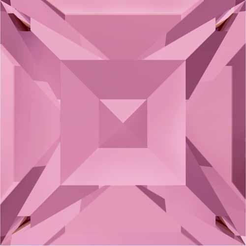 4428 Swarovski Xilion Square Stones, Light Rose (223)