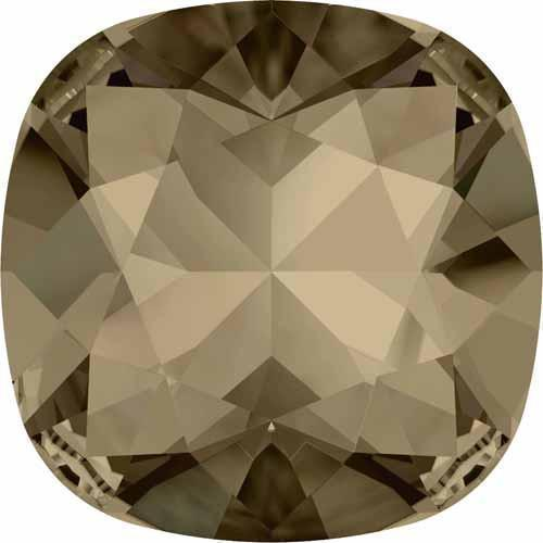 4470 Swarovski Cushion Fancy Stones, Smoky Quartz (225)