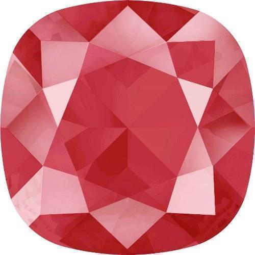 4470 Swarovski Cushion Fancy Stones, Crystal Royal Red Unfoiled (001 L107S)