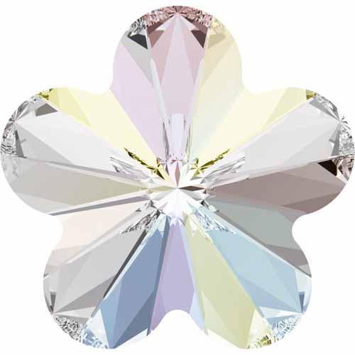 4744 Swarovski Rivoli Flower Fancy Stones