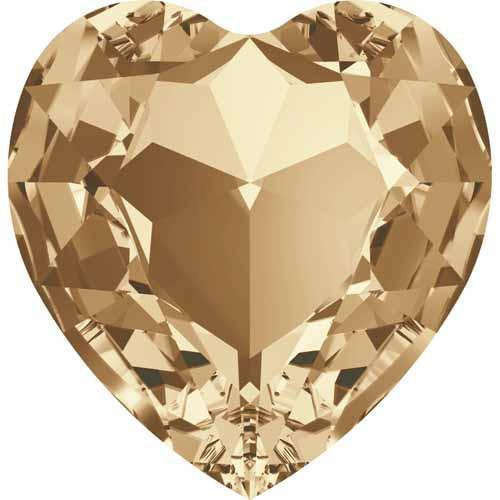 4827 Swarovski Round Heart Fancy Stones