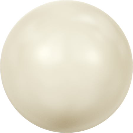 5817 Cabochon Pearls (Half-Drilled), Crystal Cream Pearl (001 620)