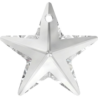 6714 Swarovski Star Pendants