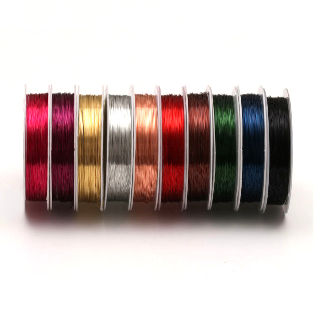 Round copper craft wire