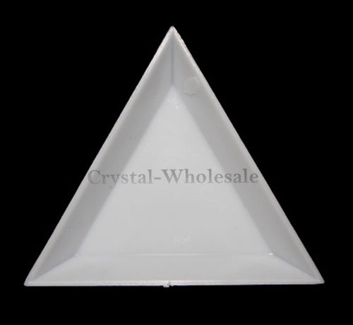 Rhinestones Flat Backs Beads Triangle Plastic Flips Sorting Trays Tool