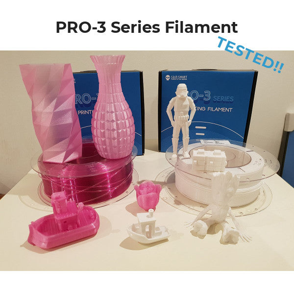 【Review】Testing SainSmart PRO-3 Series Filaments
