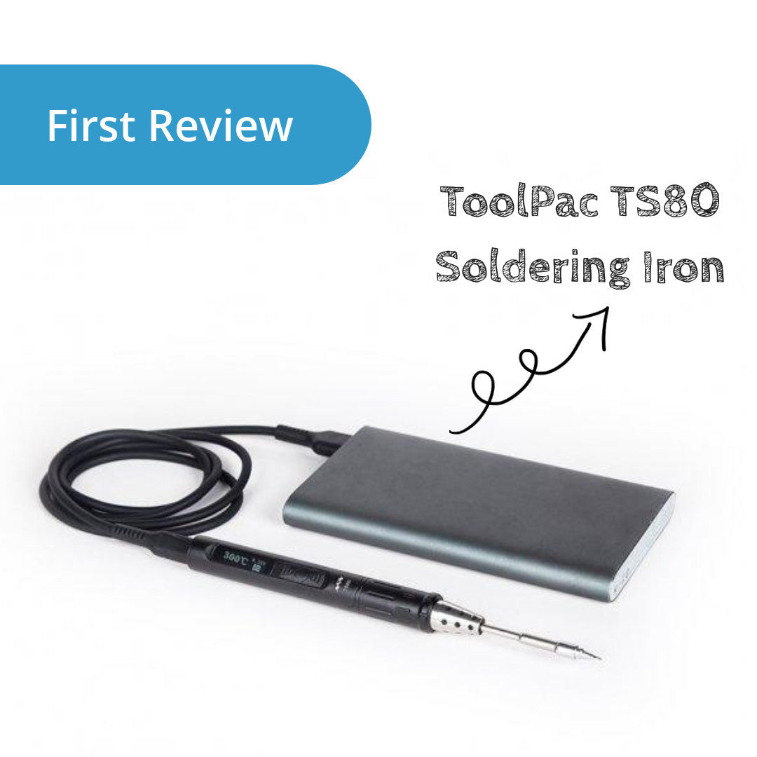 ToolPAC TS80 Smart Soldering Iron First Review